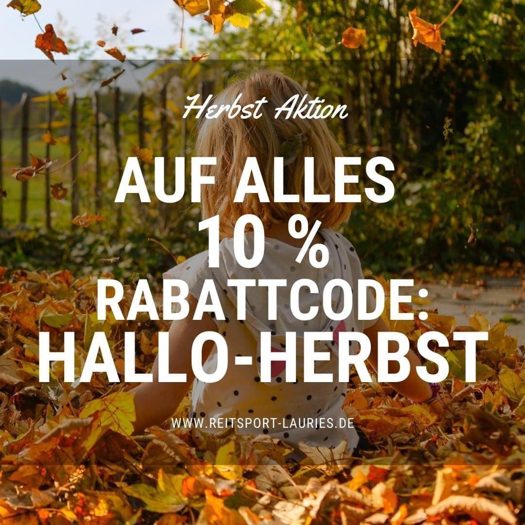 Rabatt Code Herbst Aktion